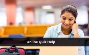 Online Quiz Help